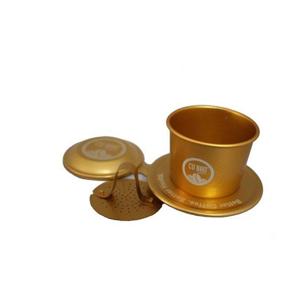Phin cà phê vàng