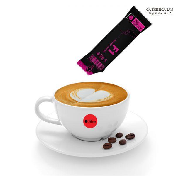 Cà phê hoà tan 4 trong 1 cho phái đẹp
