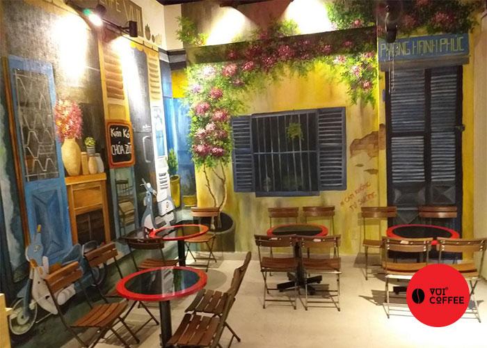 Mô hình quán cà phê sạch