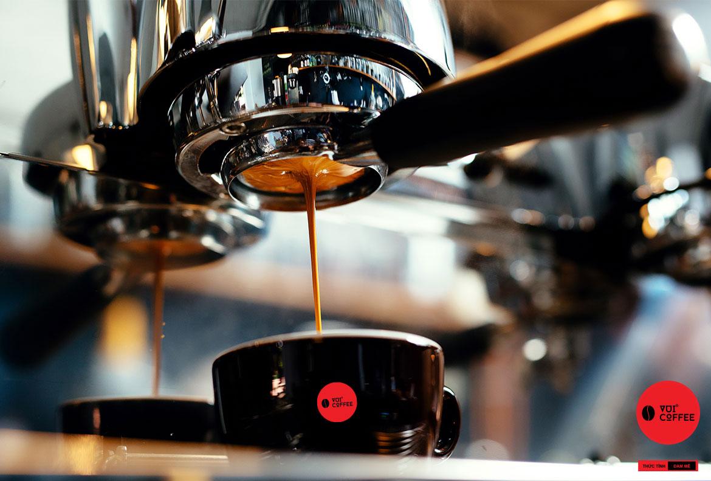 Cà phê máy - máy pha cà phê
