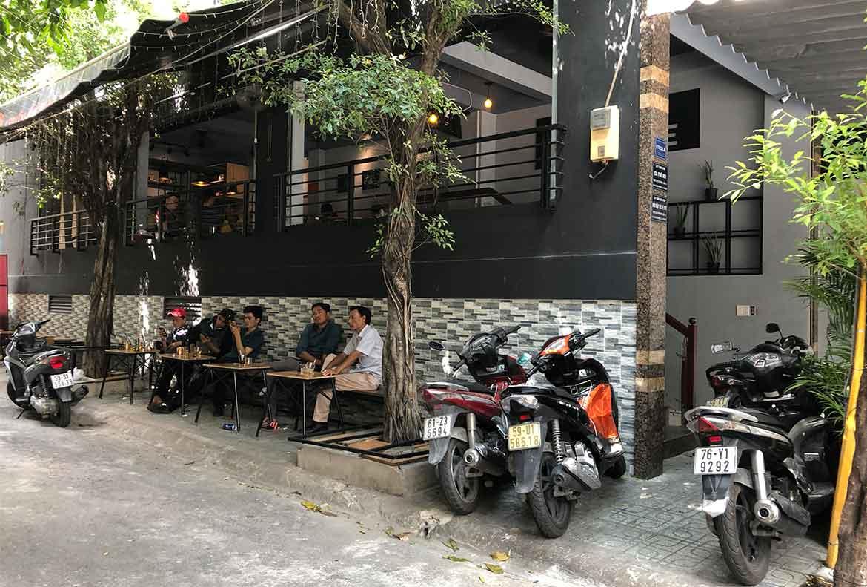 Mặt bằg phù hợp mở quán cà phê