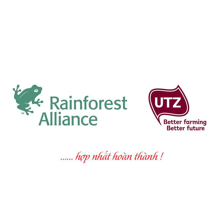 Hợp nhất UTZ và Rainforest đã hoàn thành