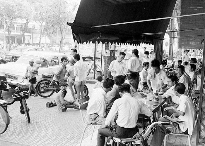 Mô hình cafe Sài Gòn xưa