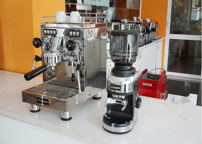 cà phê máy bình dân