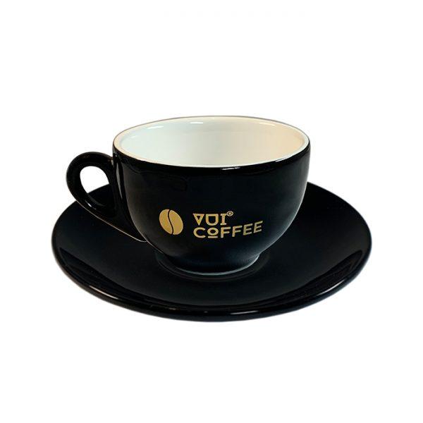 Ly cà phê Capuccino bằng sứ