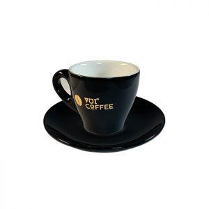 Ly cà phê Espresso bằng sứ