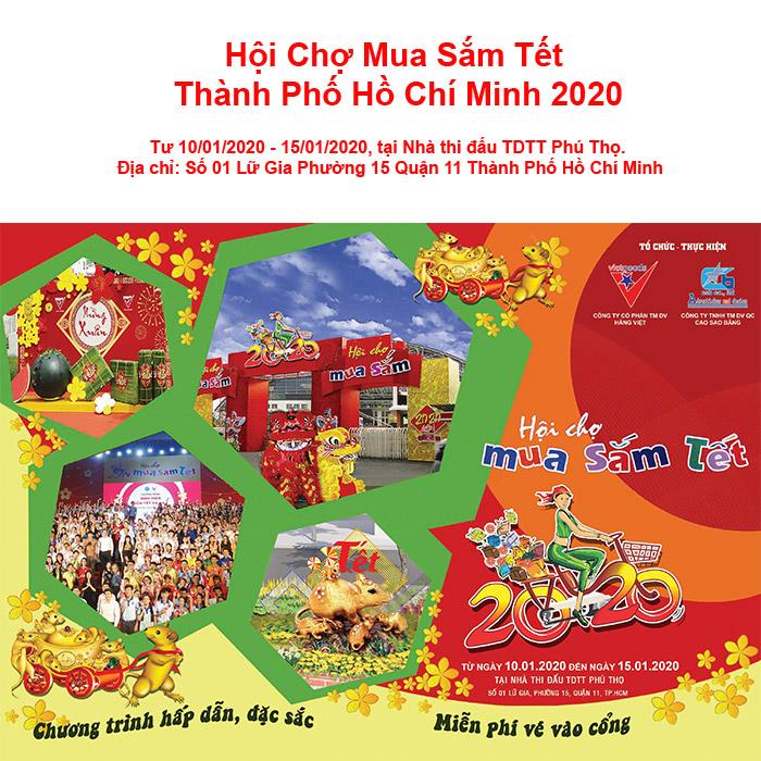 Hội Chợ Mua Sắm Tết Hồ Chí Minh 2020