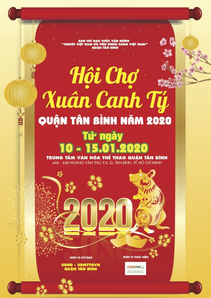 Hội chợ Xuân Canh Tý 2020