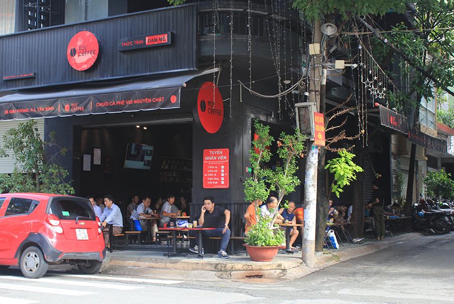 Điểm ghe quen thuộc của khách sành cà phê tại Tân Bình